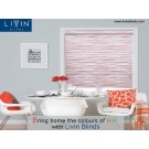 Bring home the colours of Holi with Livin Blinds
