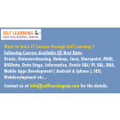 Want to learn Any IT Course through Self Learning