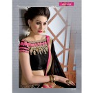 Varsiddhi Designer Red Georgette saree - Online Shopping India
