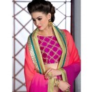 Varsiddhi Designer Red Georgette saree - Online Shopping India