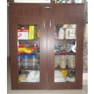 Wardrobe Book Shelf Kitchen cabinet Teak wood frame single cot with mattress Sofa Shoe Rack