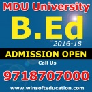 B-Ed-Admission-2016-17 B.Ed Admission 2016