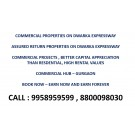 Commercial projects in Gurgaon, commercial projects with assured return, 9958959599