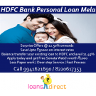 Apply for HDFC Bank Personal Loan