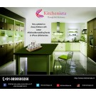 Custom kitchen furniture and modular kitchen in Pune by Kitchenista