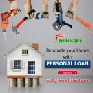 Get Personal Loan in Gurgaon for Home Renovation-Finheal