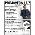 PRIMAVERA 17.7 course offerd by 3D Educators