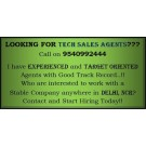 Tech Sales Agent in Delhi