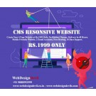 4 Page Web Design With Hosting Rs1999 Only CMS Resonsive Website