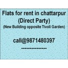 2bhk flat for rent for family only