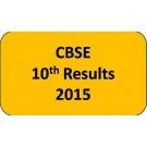 CBSE Class 10 Results 2015