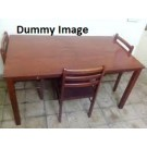 Dinning Table With Fout Chair For Sale