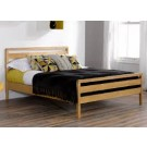 Single cum Double Wooden Bed for sale