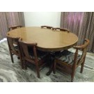 Six Seater Wooden Dining Table For Sale In Kanpur