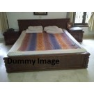 Teak Wood Double Bed For Sale