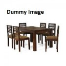 Wooden Dining Table With 6 Seater Set