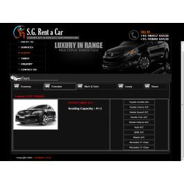 S G Rent a Cars  Car Rental Bangalore