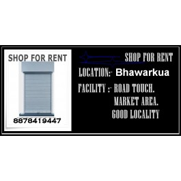 Commercial Property for Rent-Shops - Commercial Space-Available For Rent In Indore