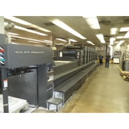 Used Heidelberg SM 102 V SM 72 V Offset Machine