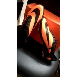Nike Hypervenom Phatal FG-UNUSED-black-citrus orange