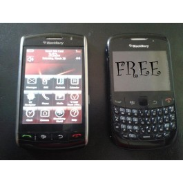 For Sale Blackberry 9530 and Blackberry Curve is absolutely free