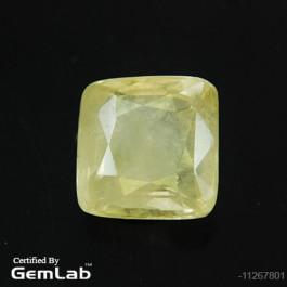 Buy Certified Natural Yellow Sapphire-Pukhraj at Bangalore- Hubli- Udupi- Gulbarga