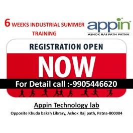six week-month summer industrial training in appin patna ashokrajpath