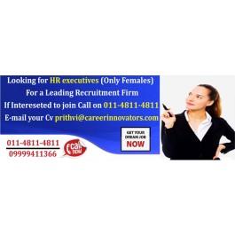 HR Recruiter HR Executive – New Delhi
