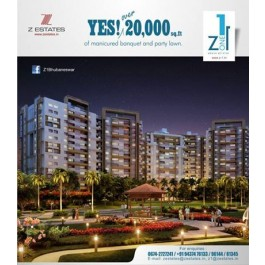 3BHK Apartments for Sale in Bhubaneswar - Z1