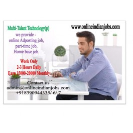 Copy Paste work-Online Jobs-Wanted home based internet job worker- Are you search same contact me.