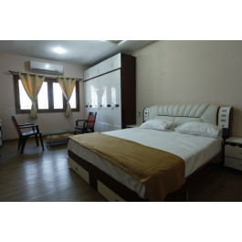 Luxury star category service apartment in hyderabad