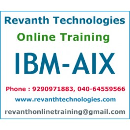 IBM-AIX Online Training from Hyderabad
