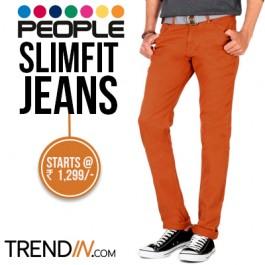 People Slimfit jeans