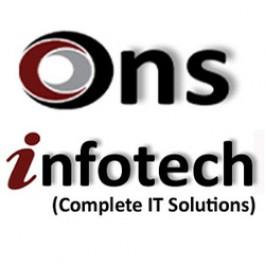 ONS Infotech Website desing websoftware making all IT Training