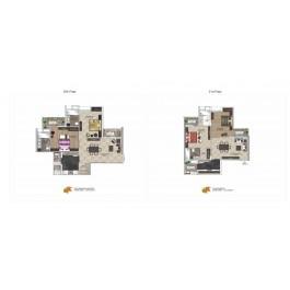 2 BHK Luxury apartment available in Maya Garden City- Zirakpur