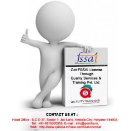 fssai certification india