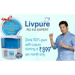 Buy Livpure Touch 2000 UV RO Water Purifiers in easy EMI