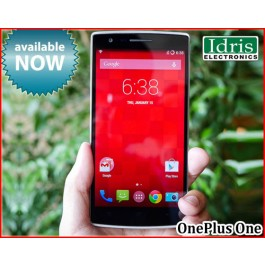 New Sealed Pack OnePlus One Available In Idris Electronics Raipur