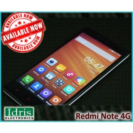 New and Sealed Pack Redmi Note 4G Available In Redmi Authorized Dealer Idris Electronics Raipur
