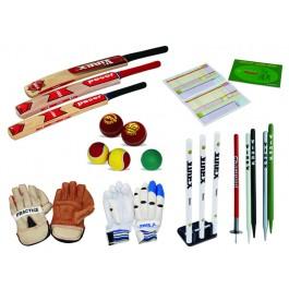 Complete range of cricket equipment