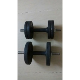 Dumbbells with 4-4 KG weight each for only Rs. 1100
