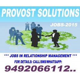 Urgent Requirement for Relationship Manager