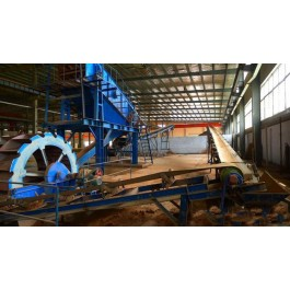 Professional stone aggregate crushing plant