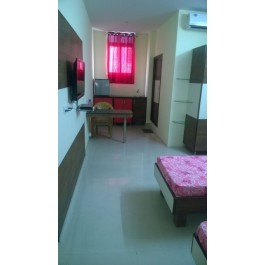 DOUBLE BED STUDIO WITH A/C FOR RENT 22000 MONTH
