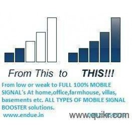 Mobile signal booster from ENDUE RF SOLUTIONS PVT.LTD.PUNE