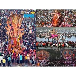 Enjoy The Beauty Of Live Ganpati Visarjan