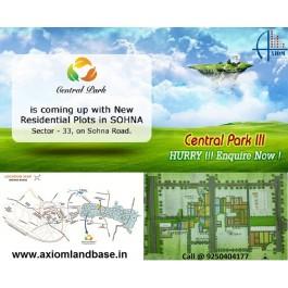 Central Park 3 Residential Plots Sector 33 Sohna