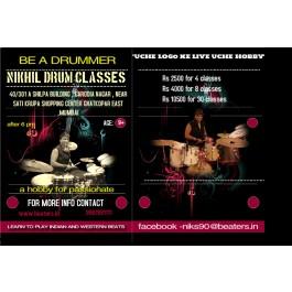 drum classes at ghatkopar east mumbai by nikhil shah