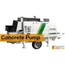 Used Concrete Pump Construction Equipment