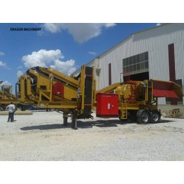 New Mobile Crushing and Screening Plant for sale